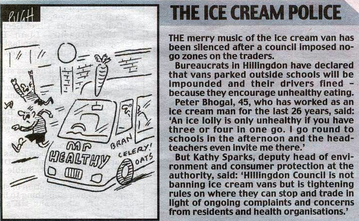 The Ice Cream Police