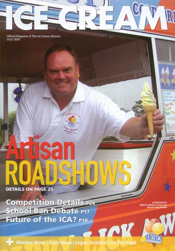Mobiler of the Year 2006/7 Derek Walker