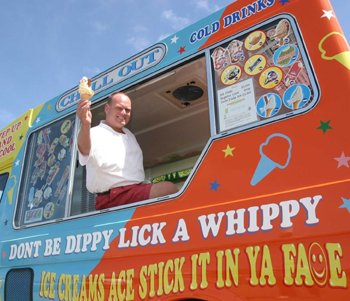 I want one of Degsy's Cos He Is Number 1 Ice Cream Man 2006/2007